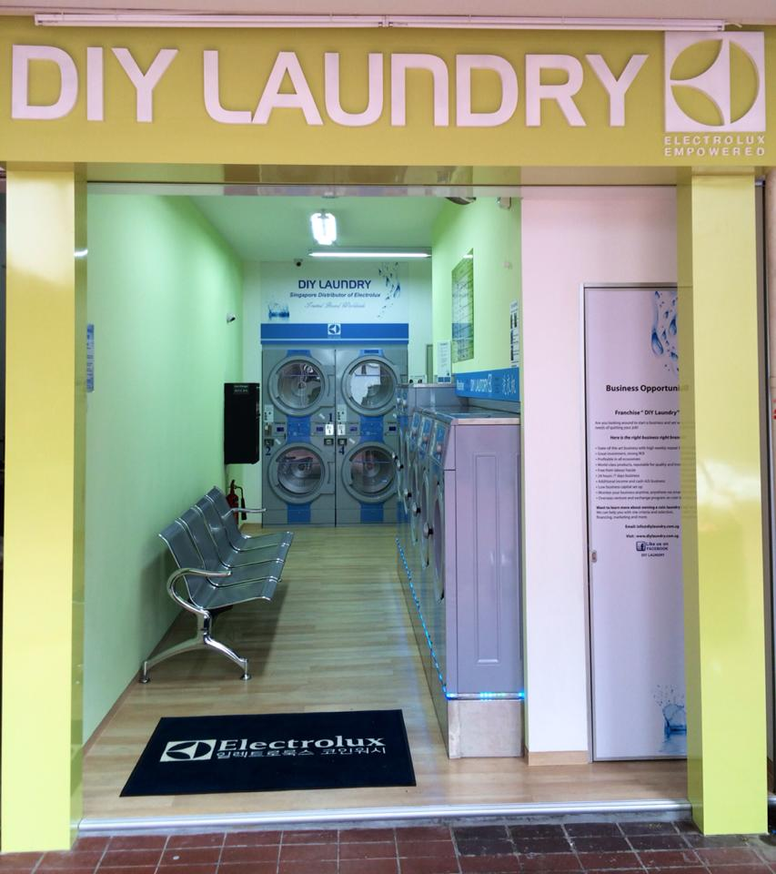 DIY Laundry Shop Front