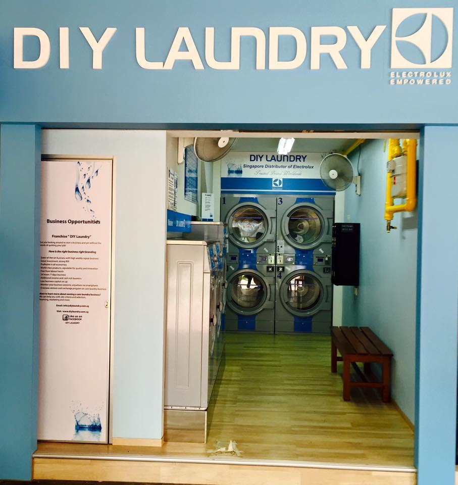 DIY Laundry Shop Front