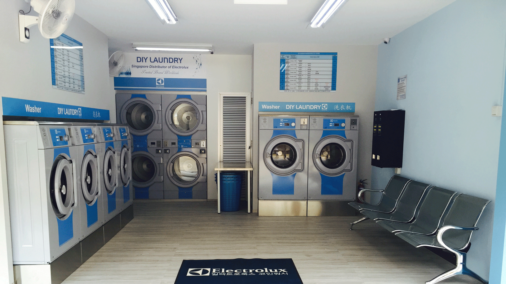 Diy Coin Laundry In Singapore Award Winning Coin Laundry